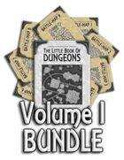 Book of Dungeons - Volume I [BUNDLE]