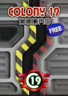 Colony 19 - doors (28mm)