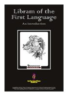 Libram of the First Language: An Introduction