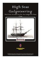 High Seas Gadgeteering: Maritime Accessories for the Gadgeteer Base Class