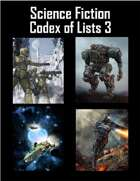 Science Fiction Codex of Lists 3