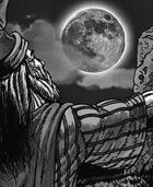 Clipart Critters 298-Moon Worshipper