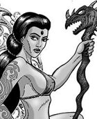 Clipart Critter 310-Dragon Lady