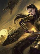 Zelart 046: Samurai-Ko & Dragons (Scholarship Donation)