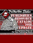Postmortem Studios 2018 Publisher's Catalog