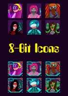 Stock Art: 8-Bit Icons