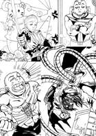 Zelart: Silly Superheroes Stock Art