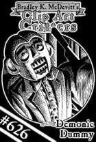 Clipart Critters 626-Demonic Dummy