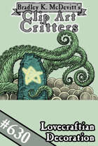 Clipart Critters 630 - Lovecraftian Decoration
