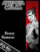 Clipart Critters 646-Street Samurai