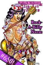 Clipart Critters 650 - Rockabilly Nurse