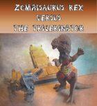 Zombiesaurus Rex vs. Tricerinator