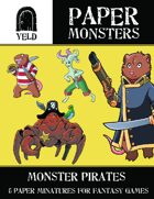 Yeld Paper Monsters: Pirate Monsters