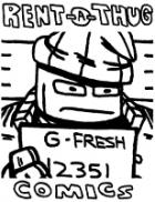 Rent-A-Thug Comics