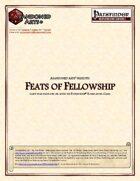 Feats of Fellowship