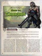 Racial Ecologies: Guide to Saurians