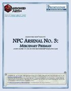 NPC Arsenal No. 3: Mercenary Pikeman