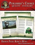 Publisher's Choice - King's Hunt (Page Backgrounds)