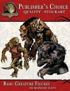 Publisher's Choice - Basic Creature Figures (Humanoid Rats)