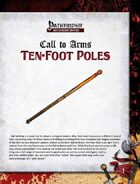Call to Arms: Ten-Foot Poles (April Fool's Edition)