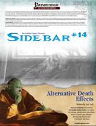 Sidebar #14 - Alternative Death Effects