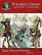 Publisher's Choice - Basic Fantasy Figures (Grippli)