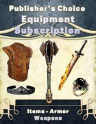 Publisher's Choice -Equipment Subscription