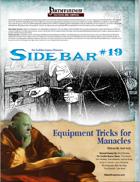 Sidebar #19 - Equipment Tricks for Manacles