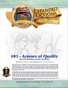 (5e) Expanded Options #03 - Items of Quality - Armor