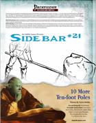 Sidebar #21 - 10 More Ten-Foot Poles