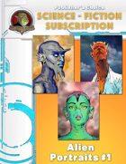Publisher's Choice -Science Fiction: Alien Portraits #1