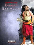 Shadows over Vathak: Explorer's Guide to Vathak