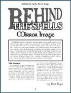 Behind the Spells: Mirror Image