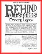 Behind the Spells: Dancing Lights