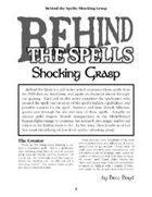 Behind the Spells: Shocking Grasp