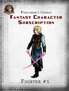 Publisher's Choice - Fantasy Characters: Fighter #1