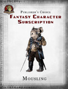 Publisher's Choice - Fantasy Characters: Mousling