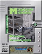 Magitech Monthly Issue 2: Weapon Technologies