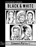 Publisher's Choice - Black & White: Commoner Portraits