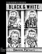 Publisher's Choice - Black & White: Dwarven Portraits