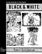 Publisher's Choice - Black & White: Forest Exploration