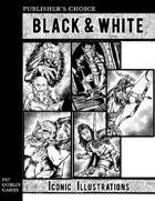 Publisher's Choice - Black & White: Iconic Illustrations