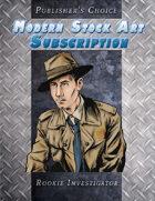 Publisher's Choice - Modern: Rookie Investigator