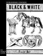 Publisher's Choice - Black & White: Filler Art