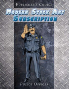 Publisher's Choice - Modern: Police Officer 1