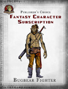 Publisher's Choice - Fantasy Characters: Bugbear Fighter