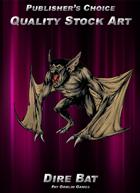 Publisher's Choice - Quality Stock Art: Dire Bat