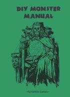 DIY Monster Manual