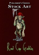 Publisher's Choice - Quality Stock Art: Red Cap Goblin