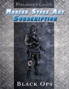 Publisher's Choice - Modern: Black Ops Soldier